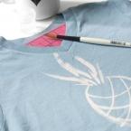 DIY tee-shirt-eau de javel
