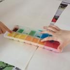 DIY peindre avec des glaçons