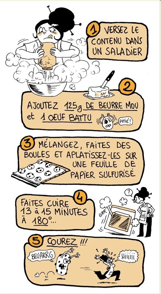 Connu DIY Etiquette pour SOS Cookies en BD - Le Meilleur du DIY MA38