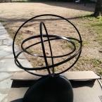 DIY Lampe cosmique en tambours à broder