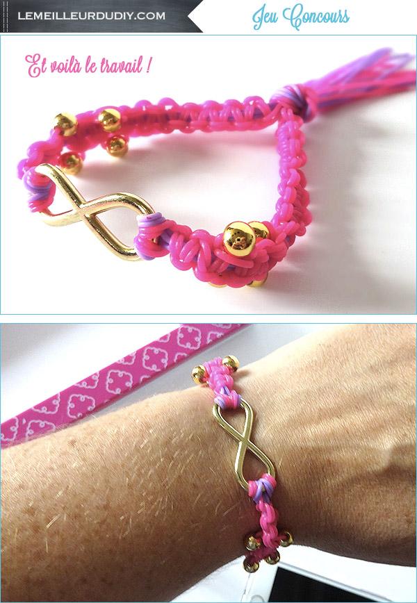 Jeu Concours Bracelet Strand Bands