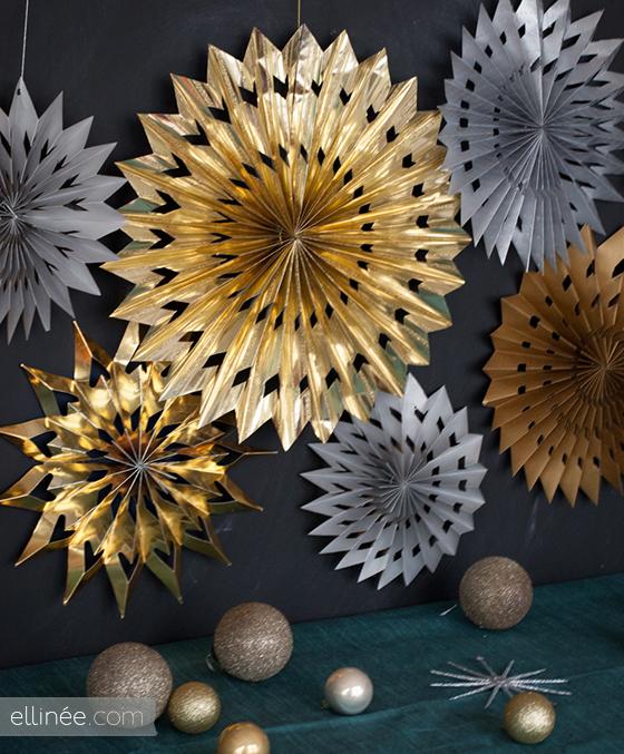 DIY Etoile de papier en origami