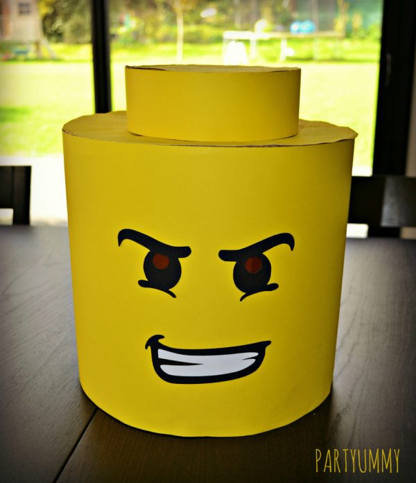 Diy d guisement lego le meilleur du diy - Deguisement tete de lego ...
