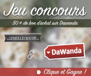 Jeu concours Dawanda et LemeilleurduDIY