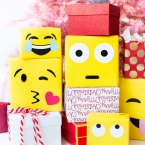 DIY Paquets cadeaux Emoji