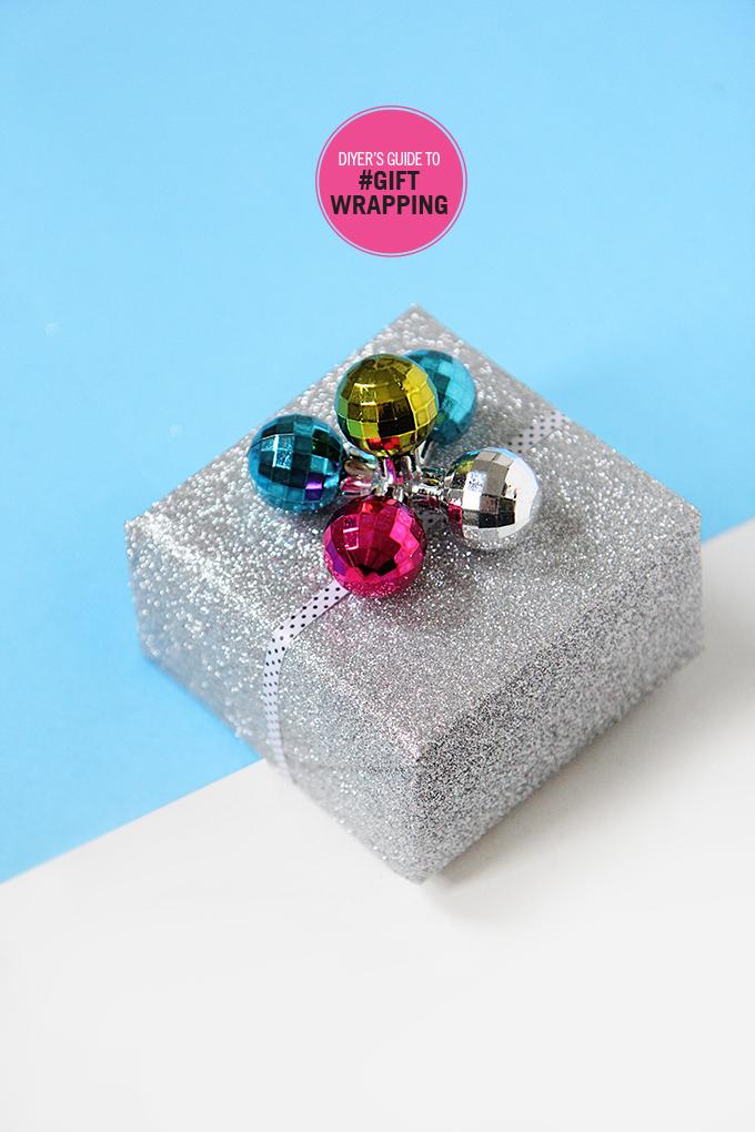 diy comment r aliser les plus beaux paquets cadeaux de no l le meilleur du diy. Black Bedroom Furniture Sets. Home Design Ideas
