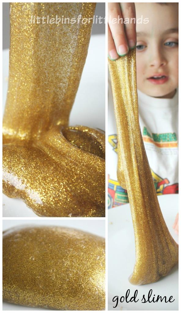 DIY Slime à paillettes