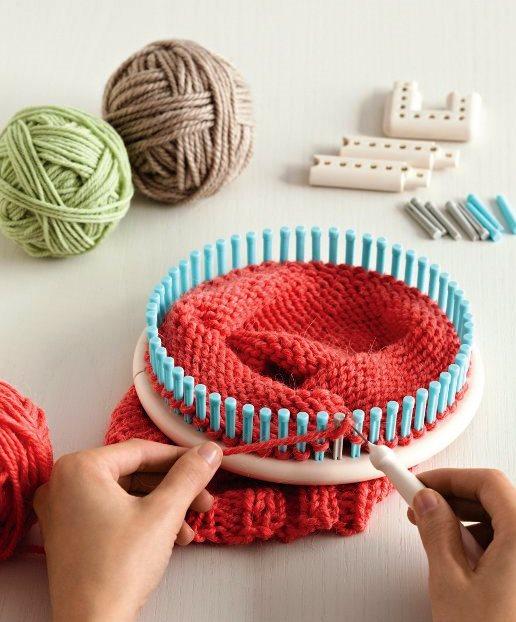 Le métier à tisser et à tricoter de Martha Stewart Le rond