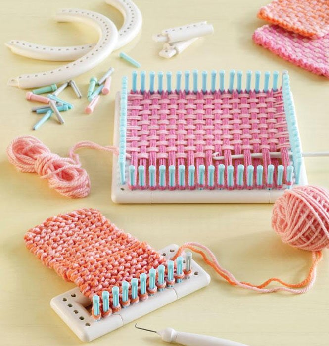 Le métier à tisser et à tricoter de Martha Stewart Le carré