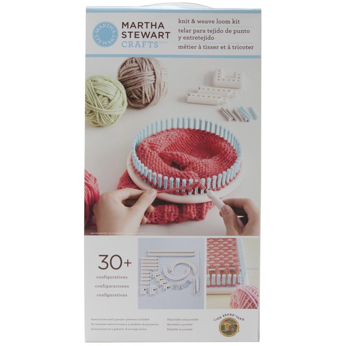 Le métier à tisser et à tricoter de Martha Stewart