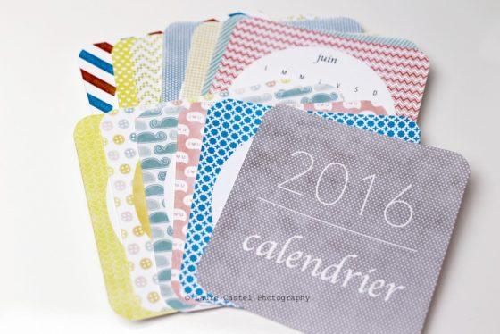 DIY Petit calendrier à imprimer2016