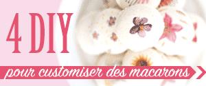 DIY Macarons personnalisés