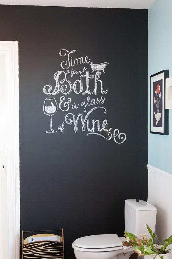 DIY Comment écrire à la craie sur un mur comme une artiste