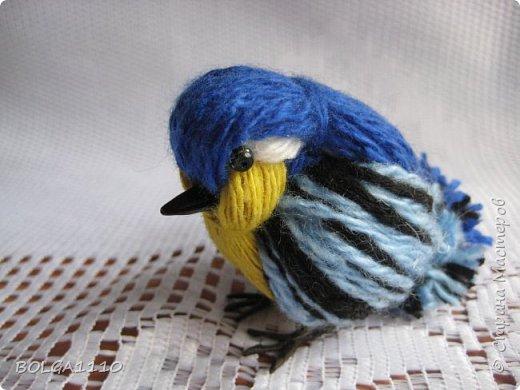 diy petit oiseau de laine le meilleur du diy. Black Bedroom Furniture Sets. Home Design Ideas