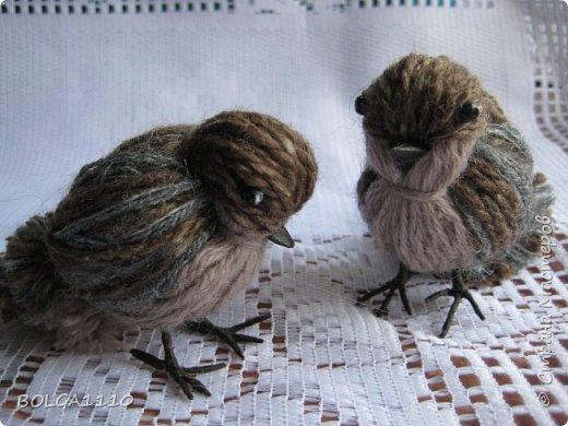 Diy petit oiseau de laine le meilleur du diy for Oiseau marron