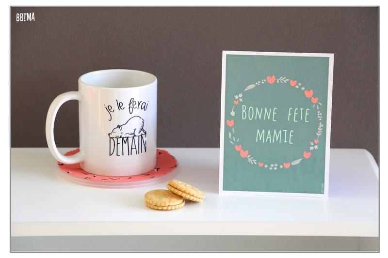 DIY Carte fête des grands-mères