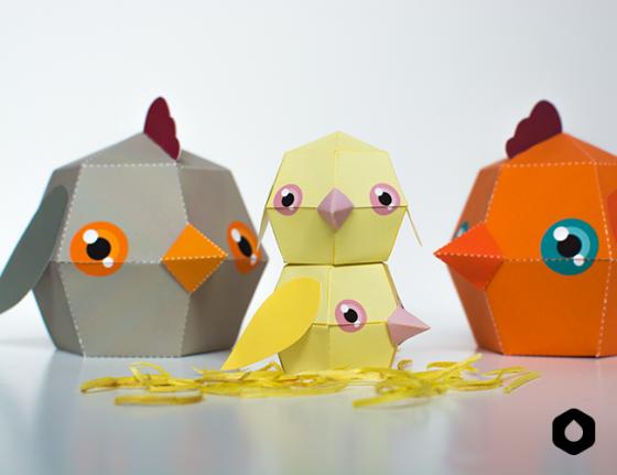 DIY Boite poulette de Pâques hypers rigolotes