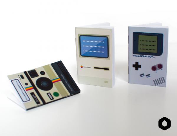 DIY Carnets de geek à imprimer