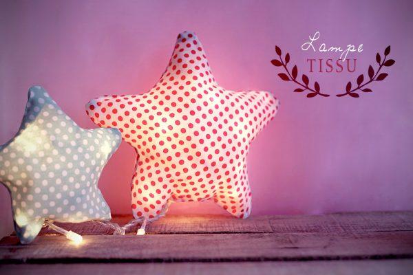 DIY Fabriquer une lampe en tissu