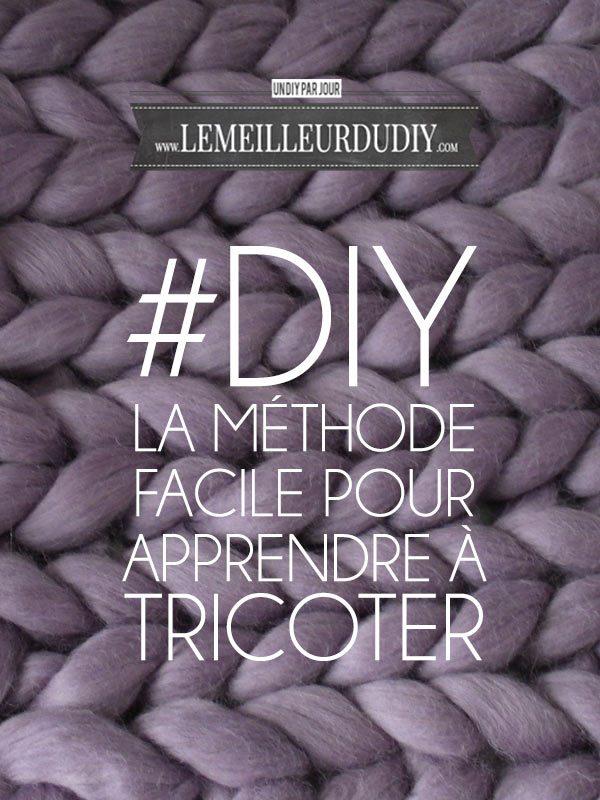 diy m thode facile pour apprendre tricoter le meilleur du diy. Black Bedroom Furniture Sets. Home Design Ideas