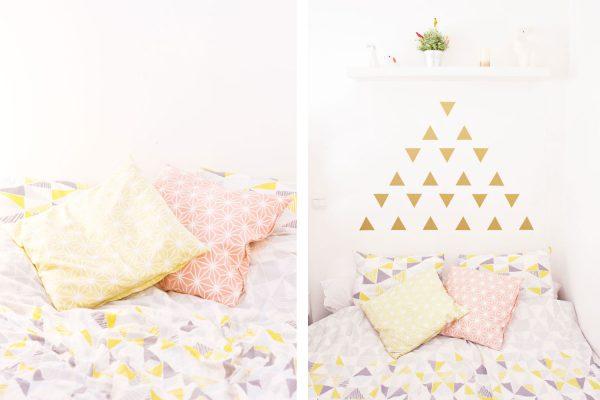 Diy t te de lit hyper facile et pas ch re le meilleur du diy - Idee tete de lit pas chere ...