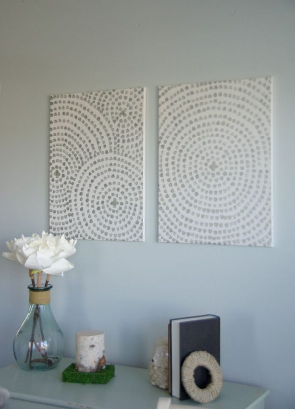 DIY Tableau artistique