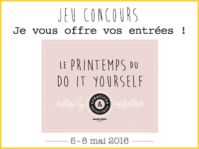 Le printemps du do it yourself jeu concours
