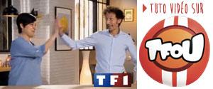 Retrouvez-moi sur TFOU pour les tutos fous et a peinture phosphorescente