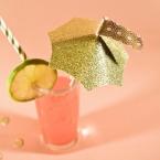 DIY Les ombrelles à cocktail les plus belles du web