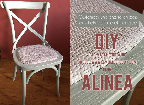 DIY Customiser une chaise par Magali THIEBAUD