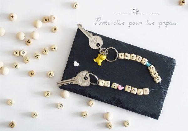 DIY Porte clés fete des peres