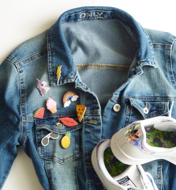 diy customiser une veste en jeans fa on patchs le meilleur du diy. Black Bedroom Furniture Sets. Home Design Ideas