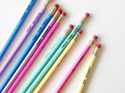 crayons customisés