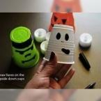 DIY Les gobelets lumineux pour Halloween