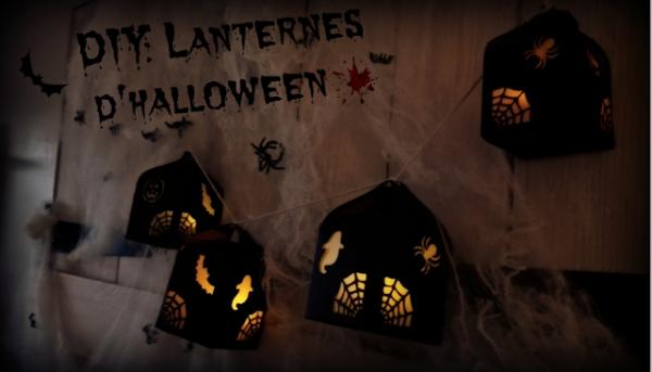 DIY Lanterne Halloween en papier