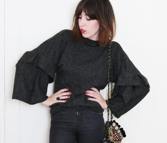 La couture pour les nulles le kimono pull