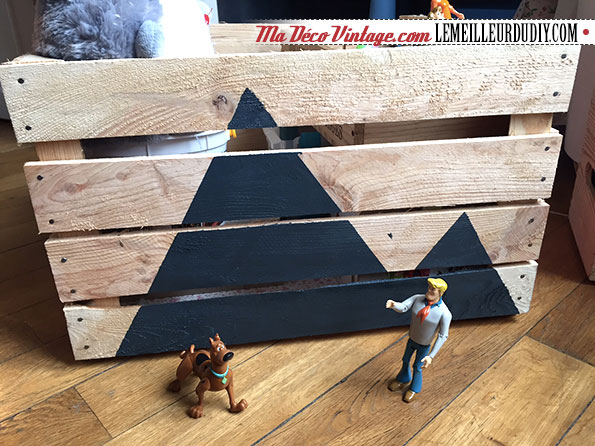 DIY décoration avec des caisses en bois