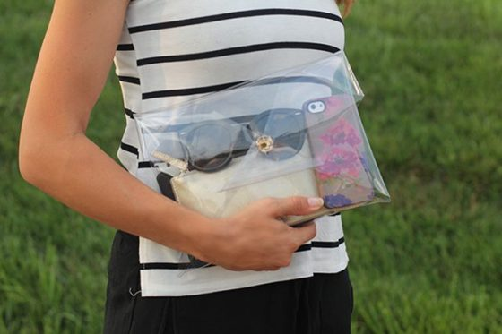 DIY pochette transparente do it yourself