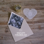 DIY enveloppe photo saint valentin