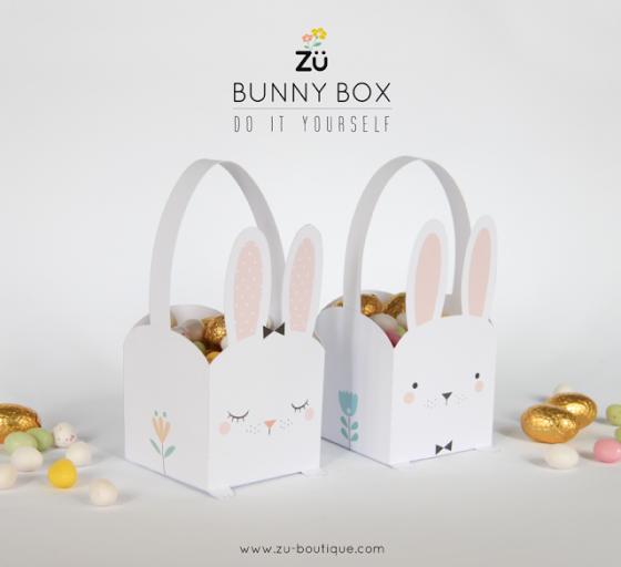 bunnybox activité de pâques panier de paques