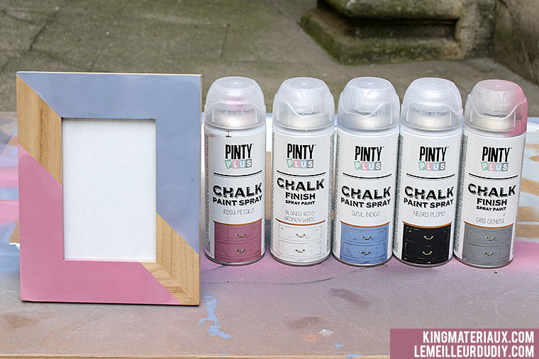 DIY tapis customises peinture chalk kingmateriaux