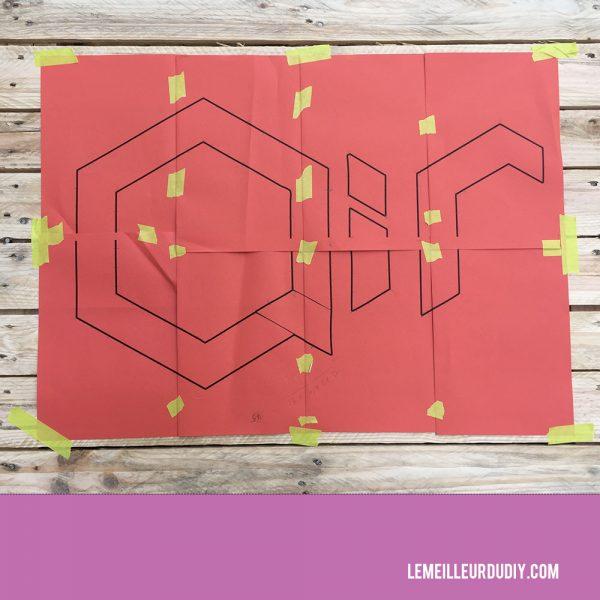 DIY tutorial string art