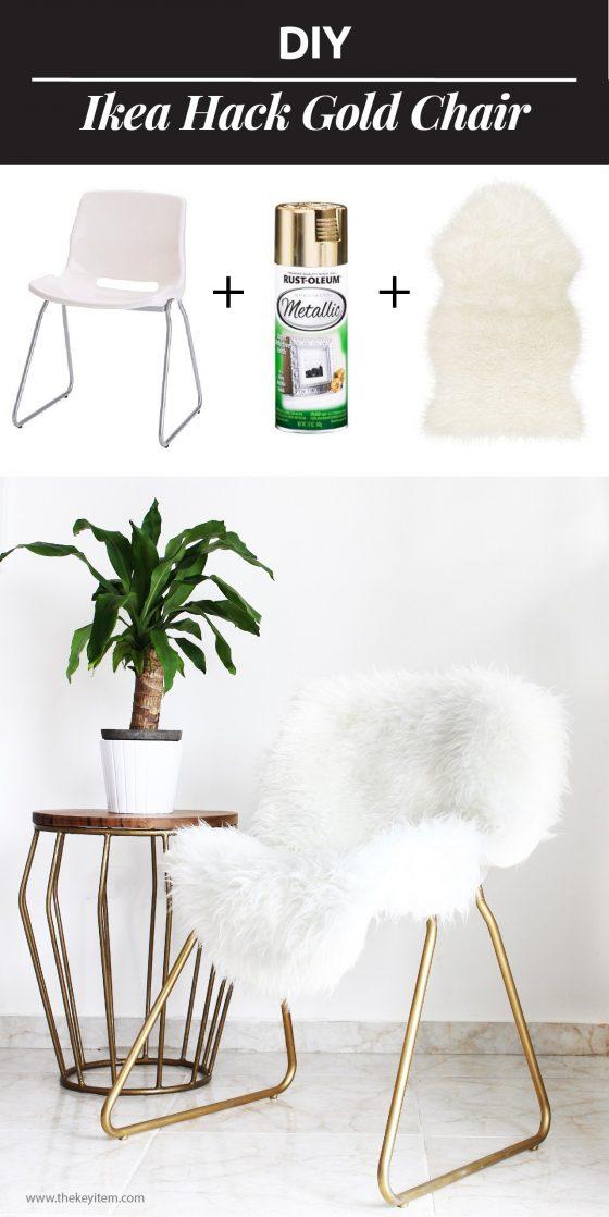 DIY chaise customisée relookée
