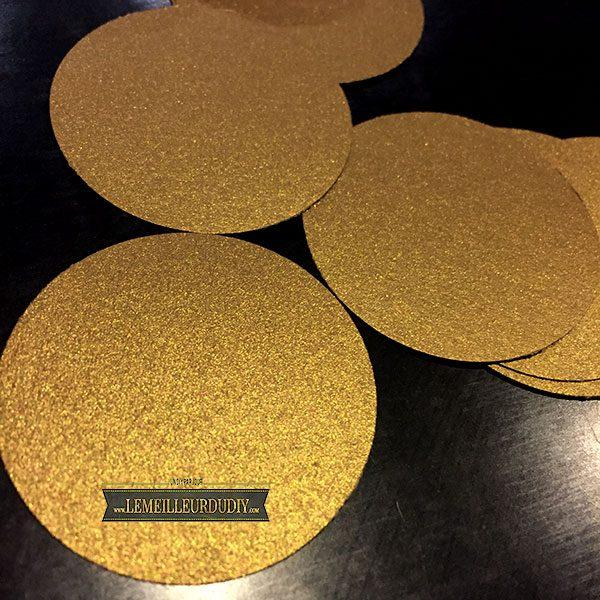 DIY confettis fait maison avec une perforatrice
