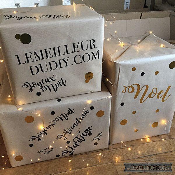 DIY jolis paquets cadeaux