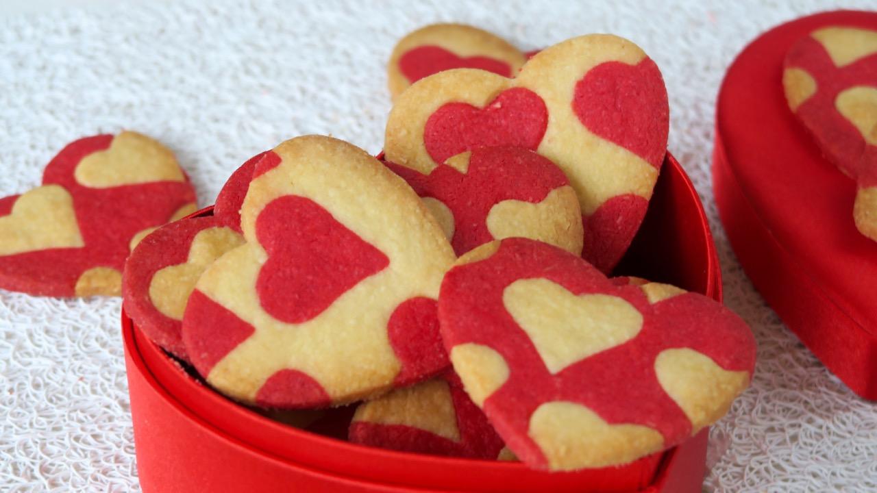 DIY recette de petits gâteaux pour la Saint Valentin