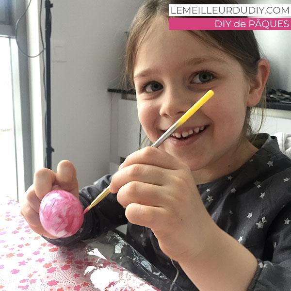 DIY le bonheur de peindre des oeufs de paques