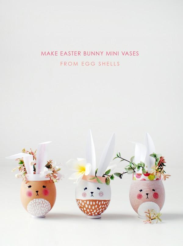 DIY les oeufs lapins de pâques trop mignons à réaliser facilement