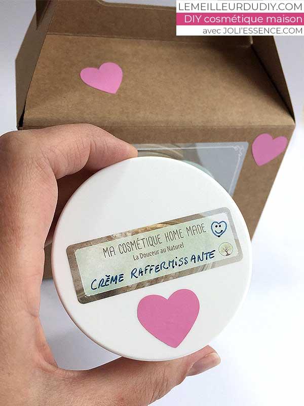 DIY cosmétique comment faire une crème de jour et sa jolie étiquette