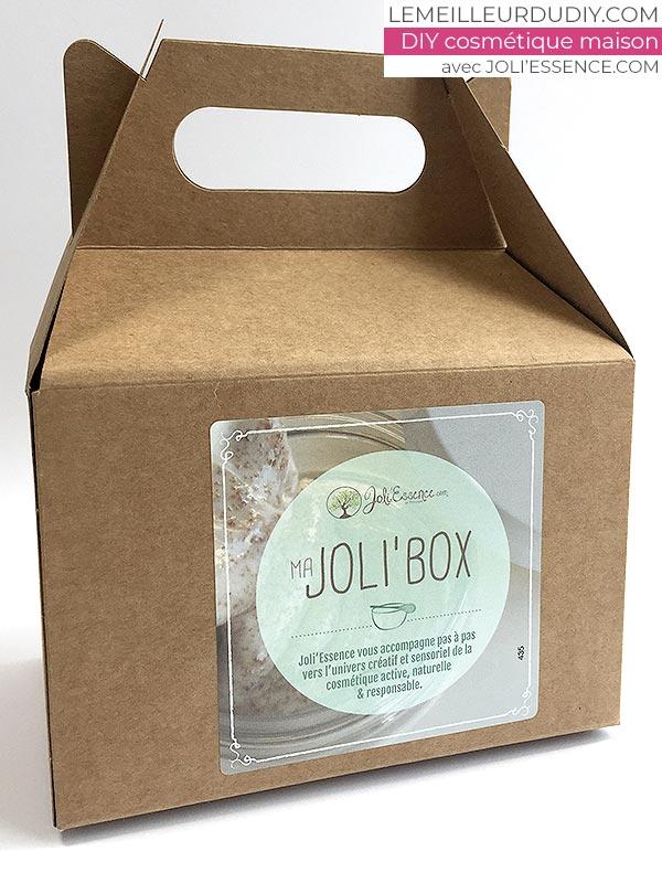 DIY box cosmétique pour offrir et fabriquer une crème de jour faite maison